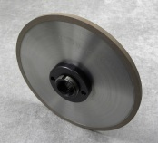 PART # TT-0840, Super Steel Grinding Wheel 7″ x 1/4″ x 1-1/4″ 180 Grit w/ hubD&B